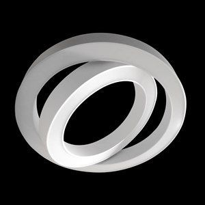 double sphere pendelarmatuur 887x100mm 13087lm 3000k dali wit