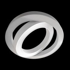 Double sphere pendelarmatuur 887x100mm 13087lm 3000K dali wit