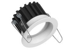 Fluxe 75 downlight HV-FD (230V) dim-to-warm 80° 600Lm 3000-2200K draadveer triac mat wit