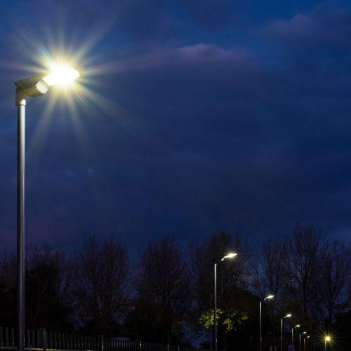 Urbino straatverlichting project Havatec