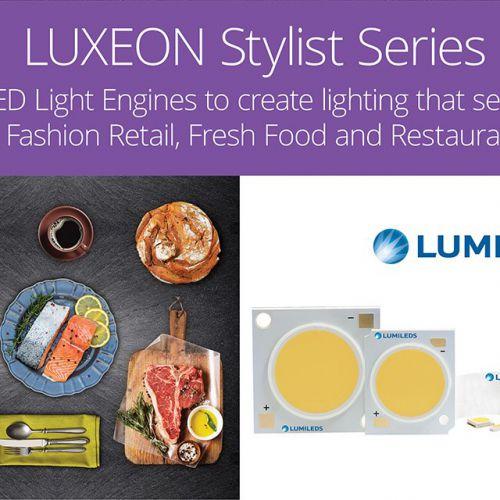Kleuren komen tot leven met LUXEON Stylist Series