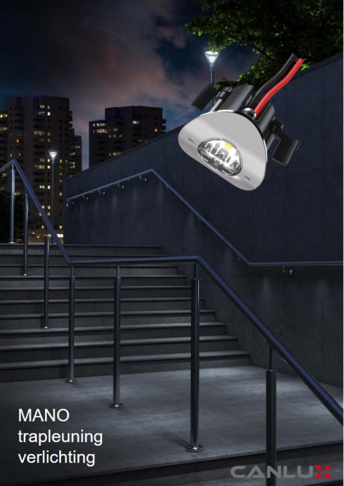 Mano: trapleuning verlichting