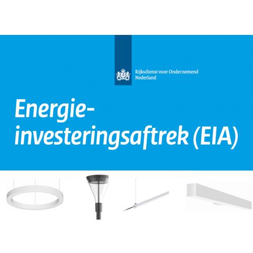 Extra besparing LED met de EIA 2021